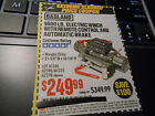 Harbor Freight $100 Off 9000lb Electric Winch Remote Control Automatic Brake