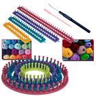 Knitting Looms Crochet Yarn needles Boards Craft Kit Socks Gloves Hats Making