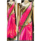 Bollywood Inspired - Party Wear Pink Saree - 1024-B