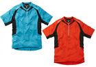 Madison Mens Flux Short Sleeve Jersey Chilli Red or Hawaiian Blue NEW RRP £29.99