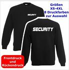 SECURITY  Sweatshirt Pullover schwarz S-3XL SE4