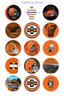 "CLEVELAND BROWNS 1 "" CIRCLES  BOTTLE CAP IMAGES. $2.45-$5.50 ***FREE SHIPPING*** $5.5 USD on eBay"