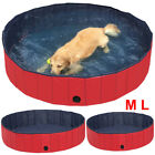 Red Pet Pool Dog Pool Swimming Pool Portable Tough and Sturdy Dia. 31.5/47.2/63""