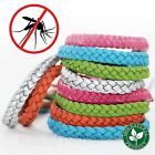2 PCS Anti Mosquito Bug Pest Repel Wrist Band Bracelet Insect Repellent Camping