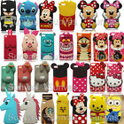 3D Cute Soft Silicone Case Mobile Phone Back Cover Skin For Huawei P8/P8 Lite