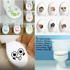 Toilet Seat Wall Sticker Bathroom Decoration Decals Decor Flower Butterfly Mural