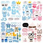 It's A Boy Girl 1st Baby Shower Photo Booth Prop Decor New Born Photogray Selfie