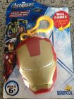 Avengers IRON MAN Armor Up Mini Games with Sculpted Clip