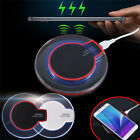 USA Fantasy Clear Qi Wireless Fast Charger Charging Pad Mat For Samsung LG HTC