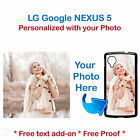 New Custom Photo Picture Phone Case Cover for LG Google Nexus 5