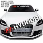 With OR Without Background Front Back Windshield Power Car stickers For HYUNDAI
