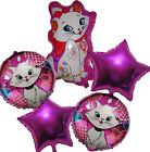 5PCES MARIE CAT BALLOON SET BIRTHDAY PARTY SUPPLIES DECOR LOLLY BAG GIFT FAVOR