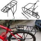 2 Type Bicycle Cycle Pannier Alloy Rear Rack Carrier Bracket Bike Luggage 50Kg
