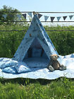 WATERPROOF COWBOY TEEPEE. KID CHILDRENS WIGWAM, INDOOR/ OUTDOOR GARDEN PLAY TENT