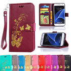 New Wallet Leather Card Slots Flip Stand Case Cover For Samsung Galaxy S5 S4 S3