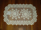 """Heritage Lace Rose 13""""x 20"""" Doily Placemat"""