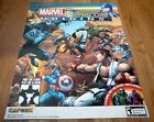 MARVEL vs CAPCOM ORIGINS sdcc 2012 Limited Original POSTER PlayStaion Xbox LIVE