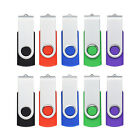 10 Pack USB 2.0 Flash Drives 1GB/2GB/4GB/8GB/16GB Memory Sticks Enough Storage