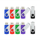 10 Pack 1GB/2GB/4GB/8GB/16GB USB Flash Drives Memory Sticks Enough Storage Disks