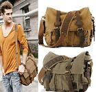 Canvas Crossbody Bag Men Military Army Vintage Messenger Bags Sports Shoulder