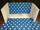 Cot Quilt & Bumper Bedding Set with MEB Little Star spot print