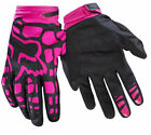 2017 FOX YOUTH DIRTPAW RACE GLOVE MOTORCYCLE MTB GLOVES BLK/PINK FULL SIZE RANGE