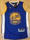 Stephen Curry #30 Golden State Warriors Swingman Adidas Blue/White Mens Jersey