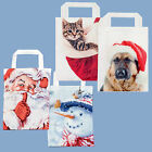 Premier Christmas Design Reusable Shopping Bag - Santa Snowman Dog or Cat