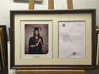 36mm Walnut Graduation Photo and Certificate Frames with Single or Double Mount