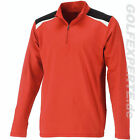 WILSON STAFF GOLF HERREN THERMAL TECH LAYER FULL-ZIP ROT