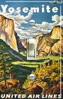 YOSEMITE Vintage Travel Poster Single/Double Switch Plate ***FREE SHIPPING***