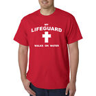 My Lifeguard Walks On Water T-Shirt - Christian Catholic Religious Tee Jesus god