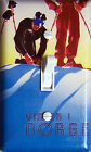 NORGE (Norway) Vintage Ski Poster Single/Double/Triple Switch Plate
