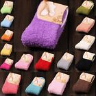 Hot Soft Fuzzy Thick Warm Womens Candy Colors Slipper Socks