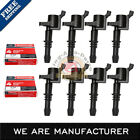 Set of 8 Ignition Coils DG511 Motorcraft Spark Plugs SP515 For Ford Lincoln