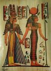 """Egyptian hand painted Papyrus Paper 11.50""""x 15.35"""""""