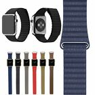 Magnetic Leather Loop Watch Band Wrist Strap For Apple Watch Series 2 38mm 42mm