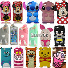 3D Cute Cartoon Soft Silicone Phone Case Back Cover Skin For Apple iPhone 7 4.7""
