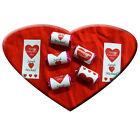 Personalised VALENTINE'S DAY  LOVE HEART sweets for your loved one...