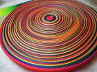 20 Yards,3/8'',5/8'',3/4',1''-Rainbow Heavy Nylon webbing-10,15,20,25mm
