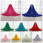 New Women Solid Color Scarves Wrap Long Soft Cotton Shawl Stole Large Size Scarf