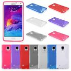 New Premium Soft TPU Gel Case For Samsung Galaxy Note 4 (N910 / N9106)