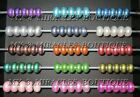 European Style PEARLIZED BEADS Pearl ACRYLIC for fits Bracelets Christmas Gift