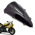 1Pcs ABS Double Bubble Windscreen Windshield for Yamaha YZF-R1 2004 2005 2006