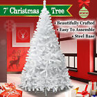 NEW 7ft Artificial Christmas Tree W/ Steel Base Holiday Decoration Xmas PineTree
