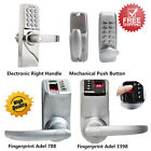 Digital Electronic Keyless Biometric Fingerprint Security Entry Door Lock Handle