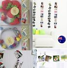 1.5M Magnetic Photo Rope Wedding Wall Picture Album Clip Hanging Decorations