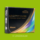 »» AIR OPTIX COLORS 1x 2er BOX KONTAKTLINSEN FARB MONATSLINSEN ALCON ±WERTE ««