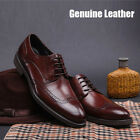 New Men's Shoes Classic Dress Formal in Cow Leather Black Brown Size 38 43 6 10