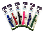 New Adjustable Pet Dog Puppy Collar Neck Strap Comfortable Nylon small 6 colours